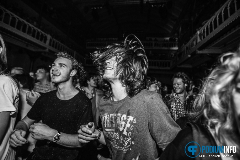 King Gizzard & The Lizard Wizard op King Gizzard & The Lizard Wizard - 01/09 - Paradiso foto