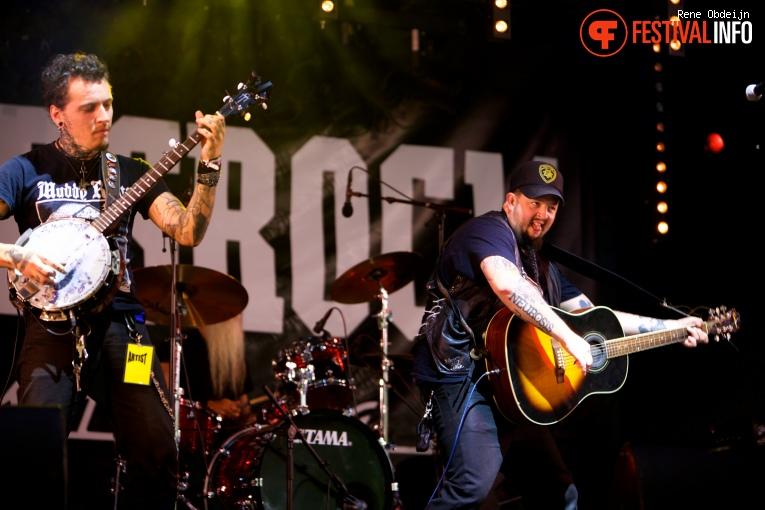 Foto Bob Wayne op Bluesrock Tegelen 2016