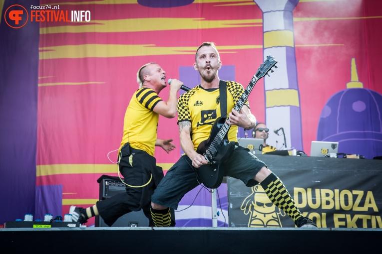 Dubioza Kolektiv op Lollapalooza Berlijn 2016 - Zaterdag foto