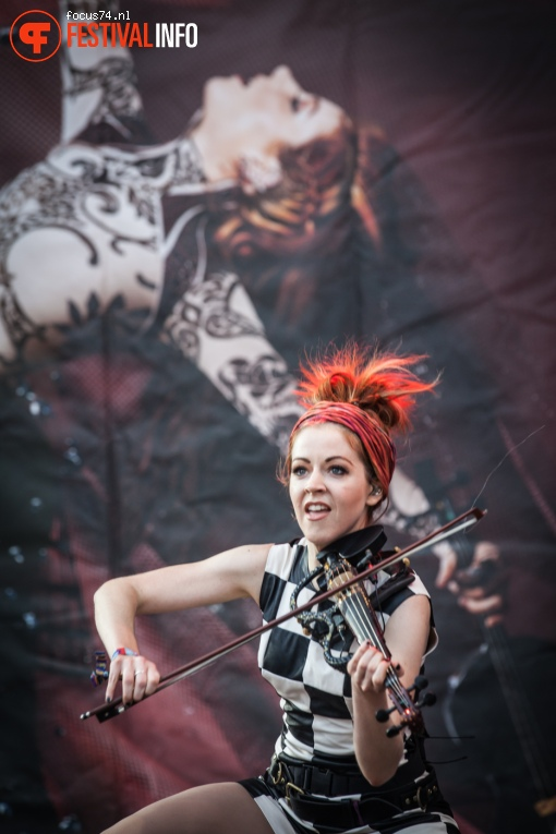 Lindsey Stirling op Lollapalooza Berlijn 2016 - Zaterdag foto