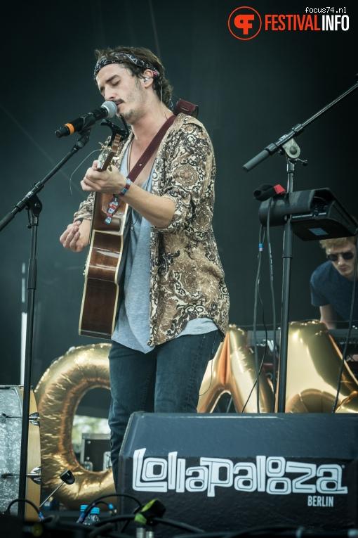 Graham Candy op Lollapalooza Berlijn 2016 - Zaterdag foto