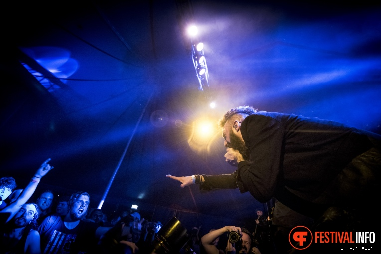 Foto Caliban op Baroeg Open Air 2016