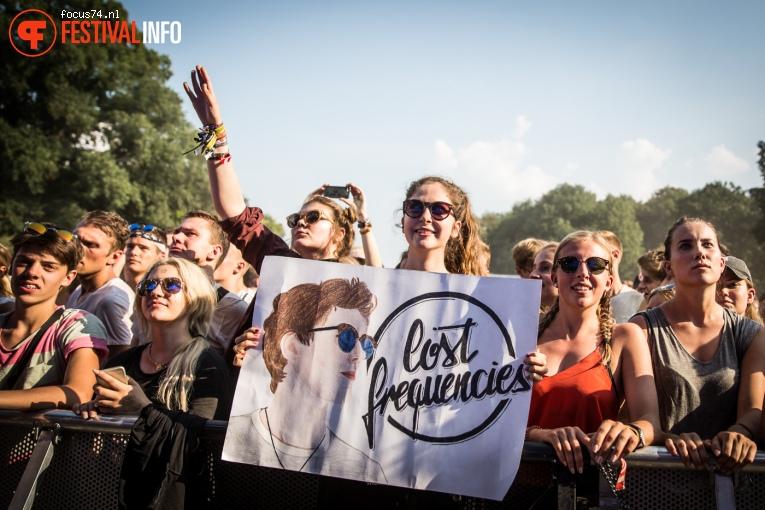 Lost Frequencies op Lollapalooza Berlijn 2016 - Zondag foto