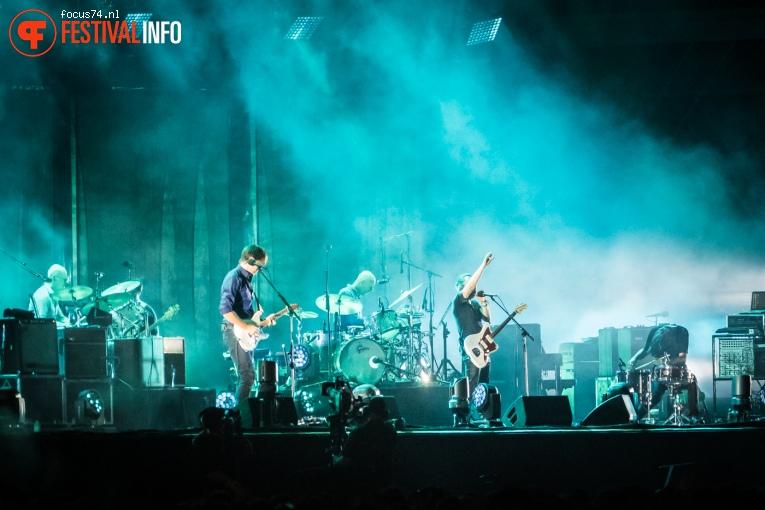 Radiohead op Lollapalooza Berlijn 2016 - Zondag foto