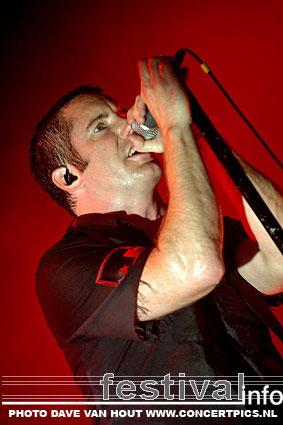 Foto Nine Inch Nails op Lowlands 2007