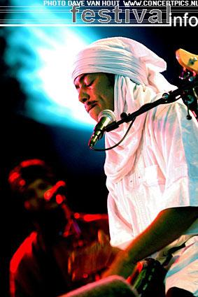 Tinariwen op Lowlands 2007 foto