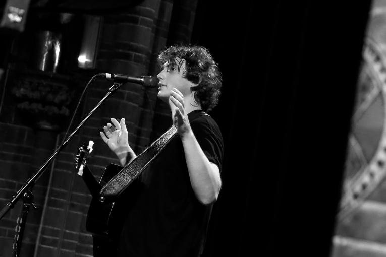 Dan Owen op 7 Layers Festival 2016 foto