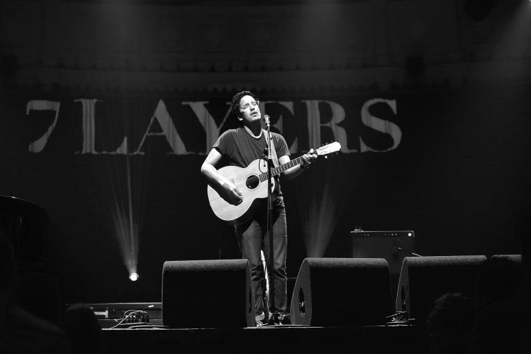 Luke Sital-Singh op 7 Layers Festival 2016 foto
