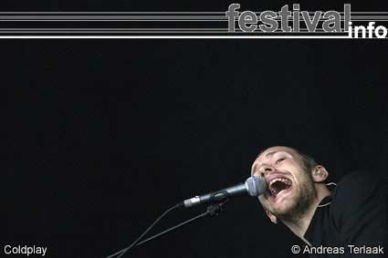 Coldplay op Live/Coldplay mini-festival foto
