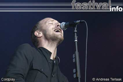 Foto Coldplay op Live/Coldplay mini-festival