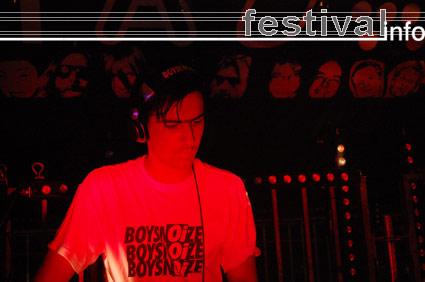 Boys Noize op Mystery Land 2007 foto