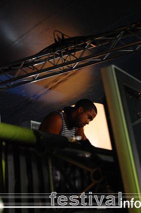 DJ Brian S. op Mystery Land 2007 foto