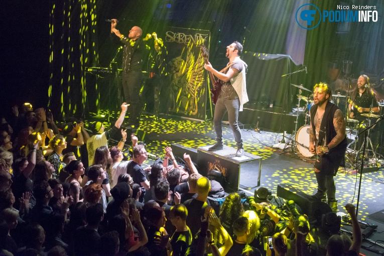 Foto Serenity op Symphonic Metal Nights Part II ft. Tarja Turunen - 21/10 - Patronaat