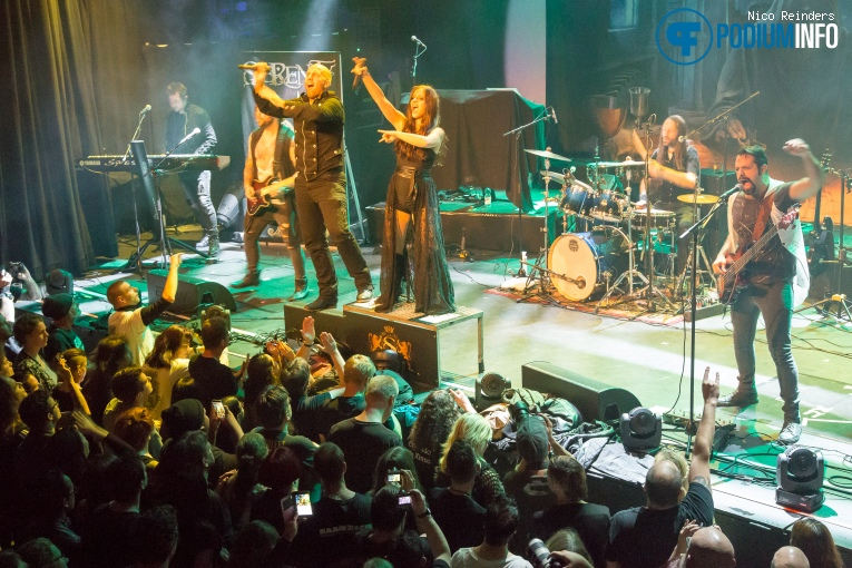 Foto Serenity op Symphonic Metal Nights Part II ft. Tarja Turunen - 21/10 - Patronaat