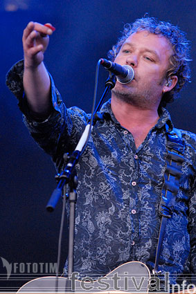 Foto The Levellers op Festival deBeschaving 2007