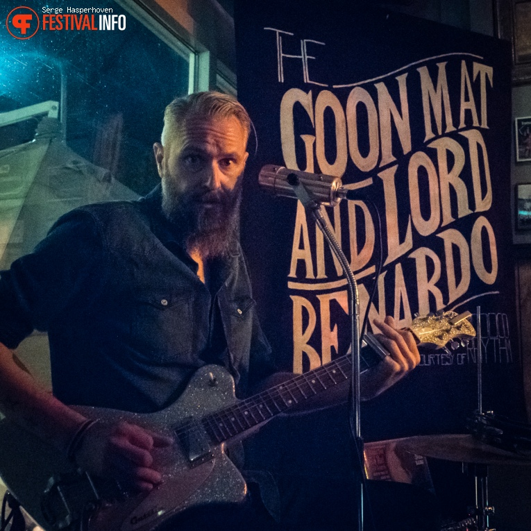 Stinky Lou and the Goon Mat with Lord Bernardo op Billy's Got The Blues 2016 foto
