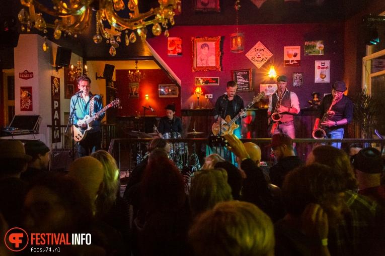 Little Steve & The Big Beat op Billy's Got The Blues 2016 foto