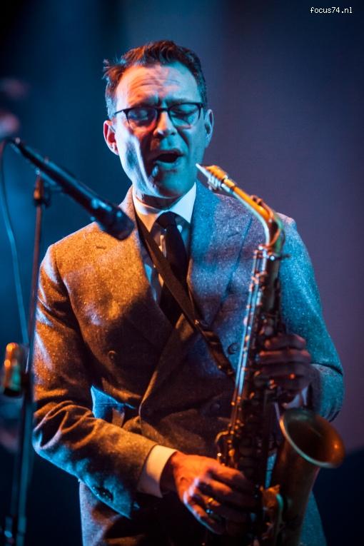 Foto New Cool Collective op Gregory Porter - 11/11 - Heineken Music Hall