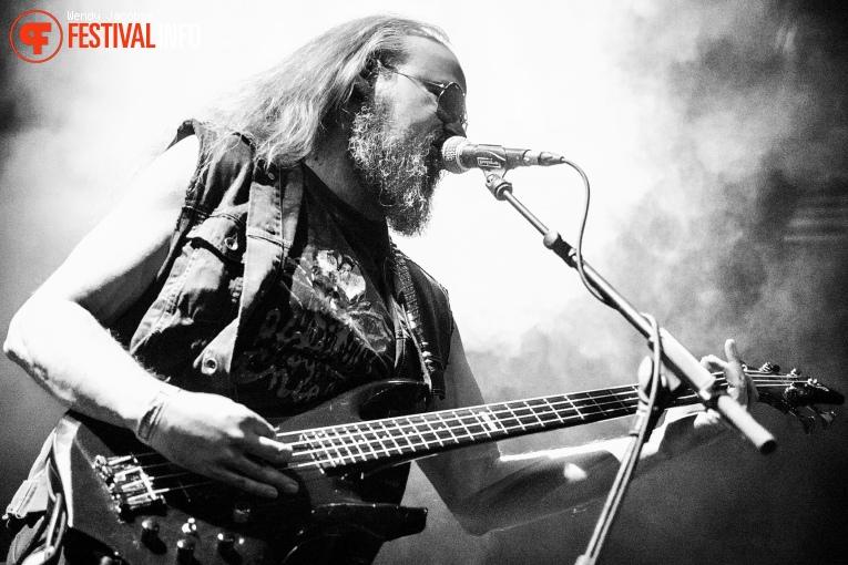 Aura Noir op Eindhoven Metal Meeting 2016 foto