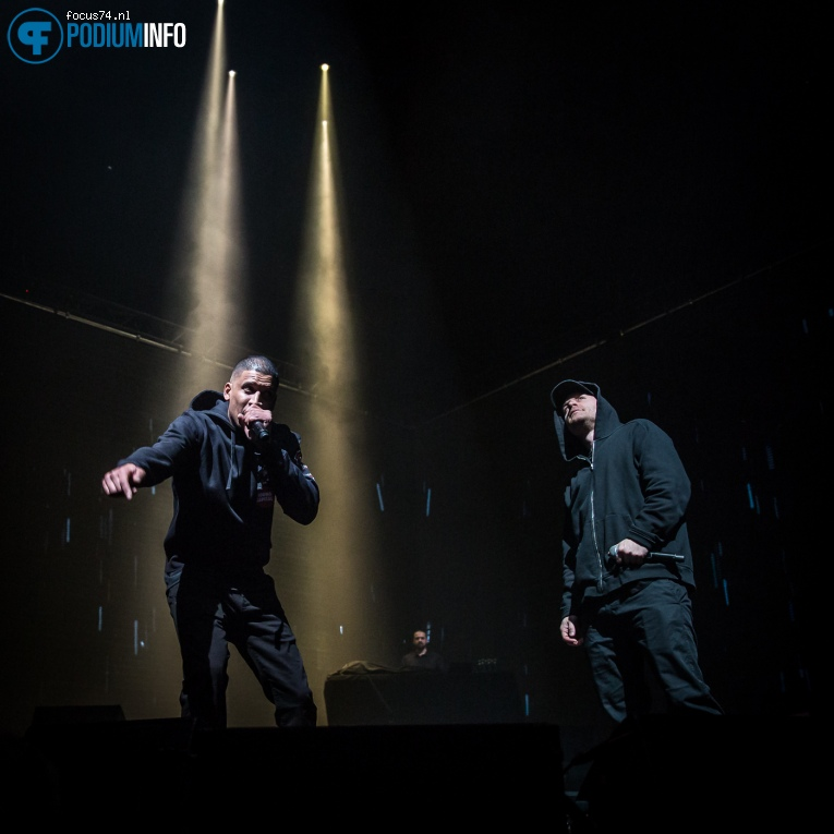Foto Rico & Sticks op Rico & Sticks / Typhoon - 9/12 - Ziggo Dome