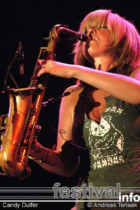 Foto Candy Dulfer op North Sea Jazz 2003