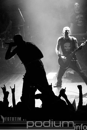 Soilwork op Eastpak Anitdote Tour - 10/10 - Tivoli foto