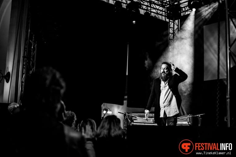 Foto Joep Beving op Eurosonic Noorderslag 2017 - Woensdag
