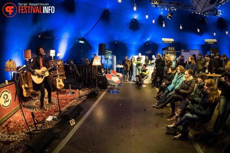 Jeangu Macrooy op Eurosonic Noorderslag 2017 - Vrijdag foto