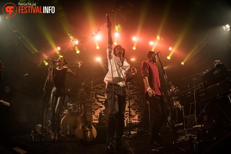 Foto Jeangu Macrooy op Eurosonic Noorderslag 2017 - Zaterdag