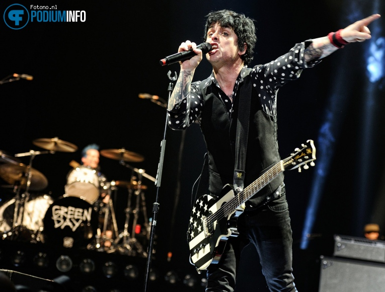Foto Green Day op Green Day - 31/01 - Ziggo Dome