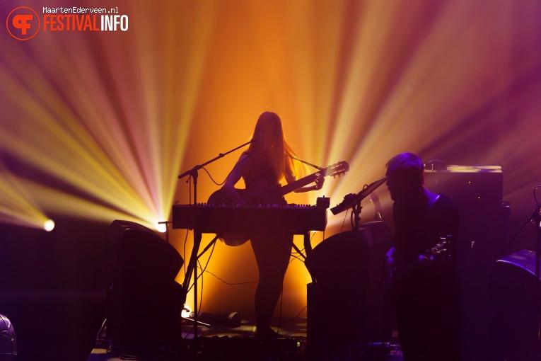 Anna Von Hausswolff op Grauzone 2017 foto