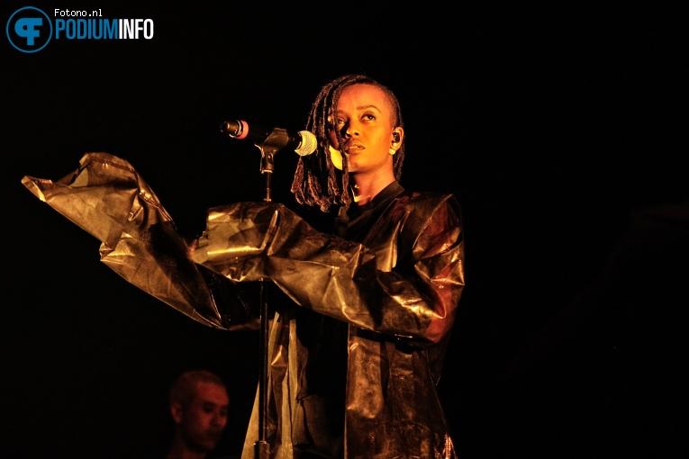 Kelela op The XX - 13/02 - Afas Live foto