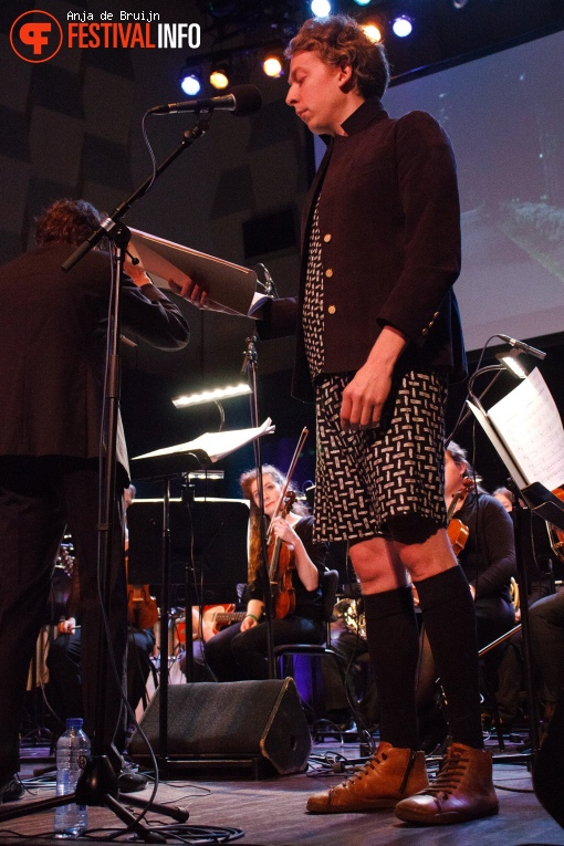 Sarah Kirkland Snider's Unremembered song cyclus op Cross-linx Rotterdam 2017 foto