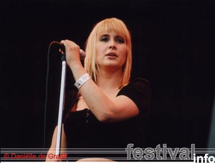 Foto Anouk op Bospop 2003