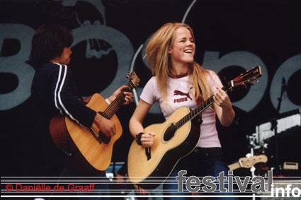 Foto Ilse DeLange op Bospop 2003