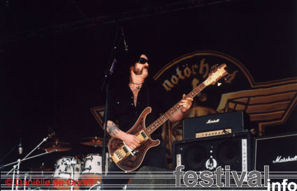 Foto Motörhead op Bospop 2003