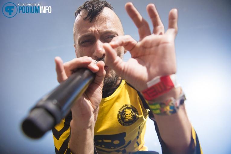 Foto Dubioza Kolektiv op Dubioza Kolektiv - 16/04 - Melkweg