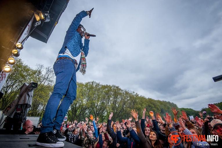 Foto Kenny B op Bevrijdingsfestival Utrecht 2017