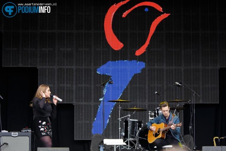 Pleun op Bevrijdingsfestival Den Haag 2017 foto