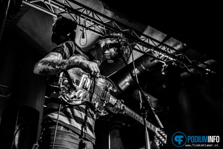 Thee Oh Sees op Thee Oh Sees - 07/05 - Maassilo Rotterdam foto