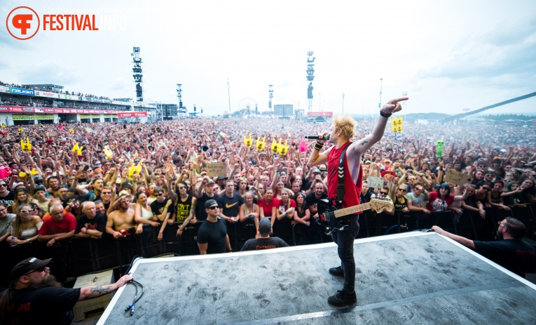 Sum 41 op Rock Am Ring 2017 - Zaterdag foto