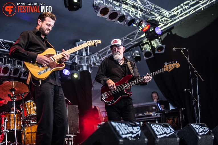 Foto Giles Robson Band op Ribs & Blues 2017