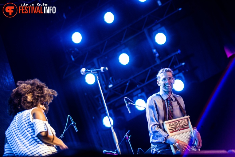 Foto Michelle David & The Gospel Sessions op Ribs & Blues 2017