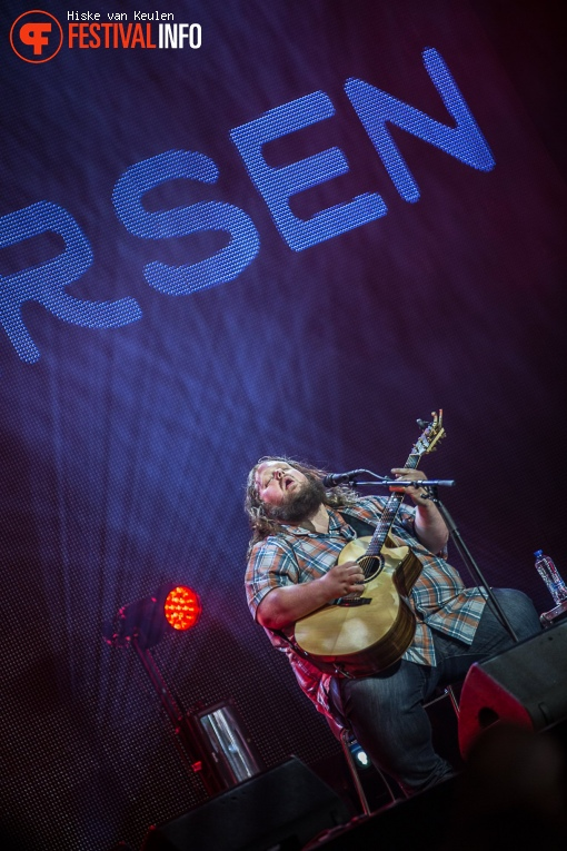 Foto Matt Andersen op Ribs & Blues 2017