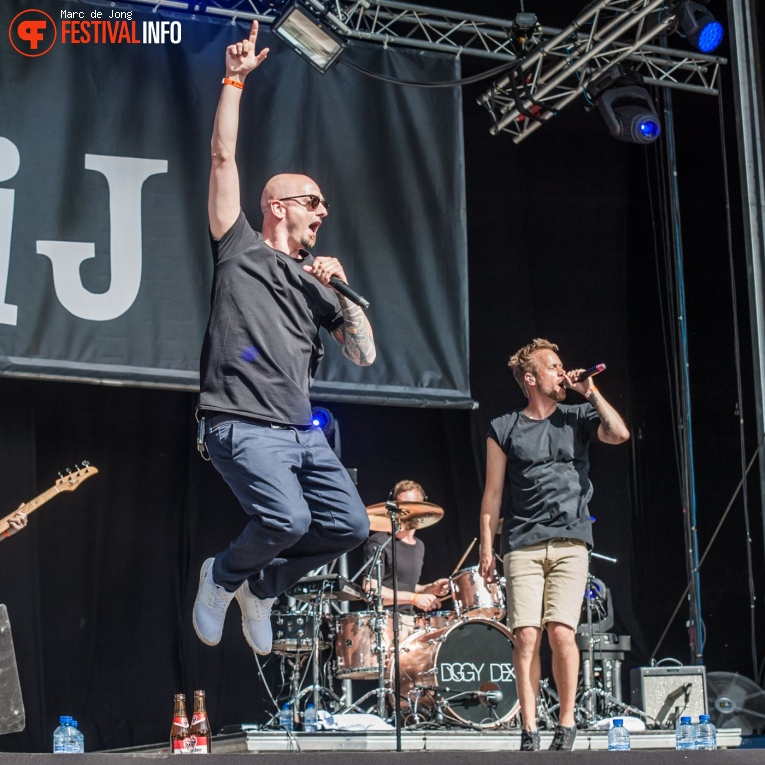 Diggy Dex op Live at Wantij 2017 foto