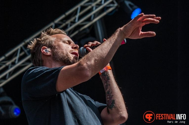 Foto Diggy Dex op Live at Wantij 2017