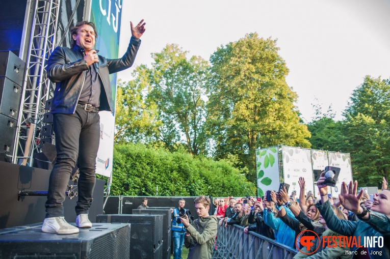 Foto Marco Borsato op Live at Wantij 2017