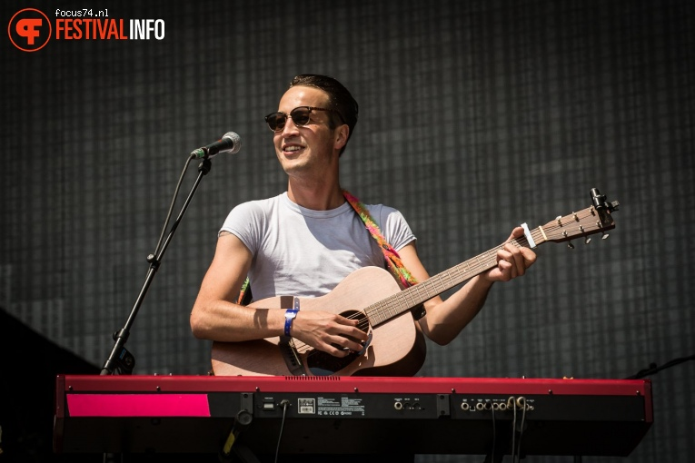 Foto Marlon Williams op Best Kept Secret 2017 - Zondag