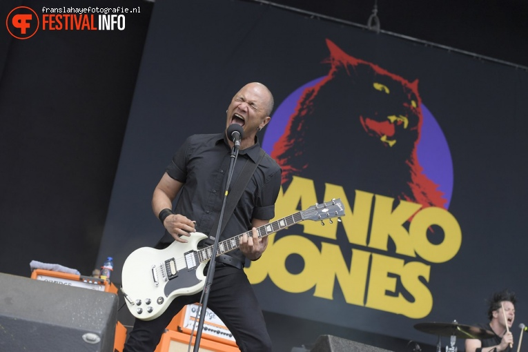 Foto Danko Jones op Graspop Metal Meeting 2017