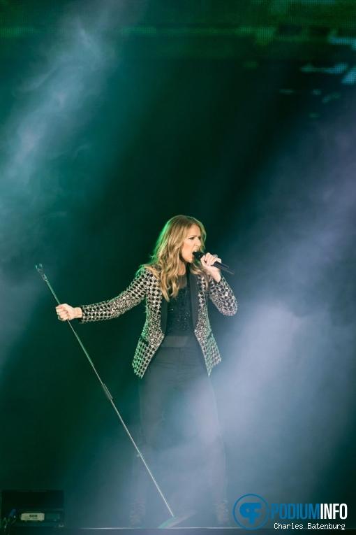 Céline Dion op Celine Dion - 23/06 - GelreDome foto
